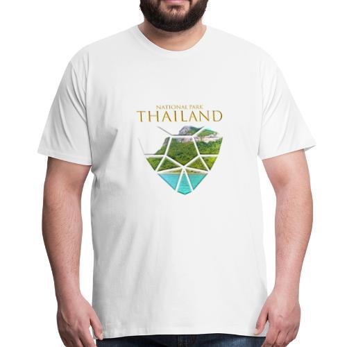 Thailand Ang Thong Nationalpark Landschaft - Männer Premium T-Shirt