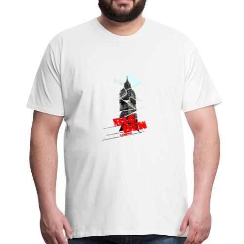 Big Ben London Elizabeth Tower England - Männer Premium T-Shirt