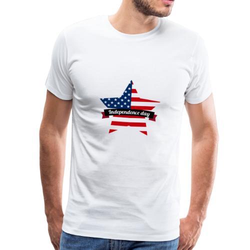 Independence Day - Premium T-skjorte for menn