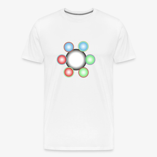 Noyaux de Singularité - T-shirt Premium Homme