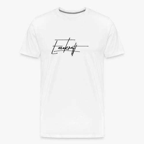 EnsoKraft Signature 001 - Mannen Premium T-shirt