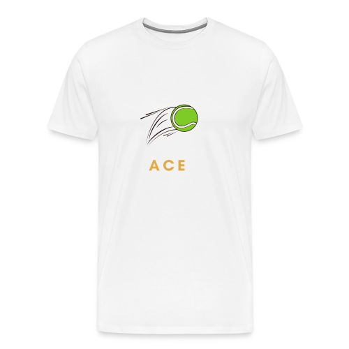 ACE Ass Tennis - Männer Premium T-Shirt