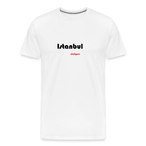 Istanbul Türkiyem Heimat - Männer Premium T-Shirt