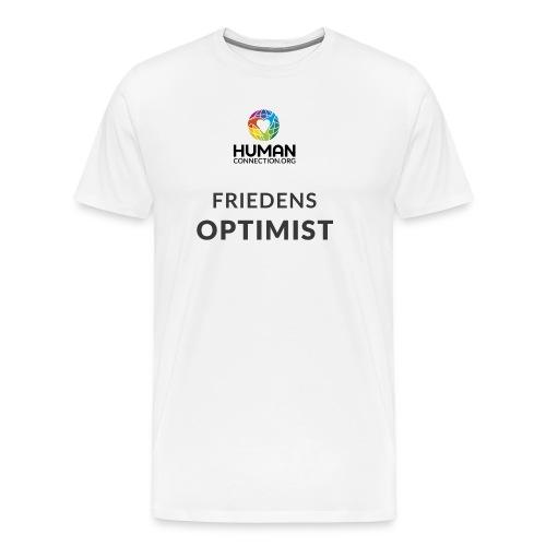 friedensoptimist - Männer Premium T-Shirt