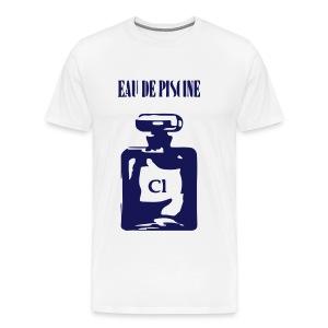 EAU DE PISCINE - Maglietta Premium da uomo