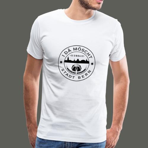 Logo schwarzweiss - Männer Premium T-Shirt