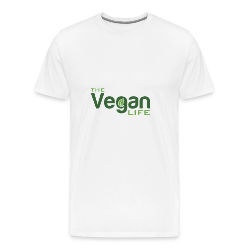The Vegan Life Logo - Men's Premium T-Shirt