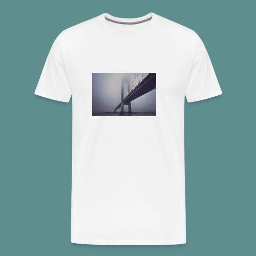 suspension bridge - Mannen Premium T-shirt