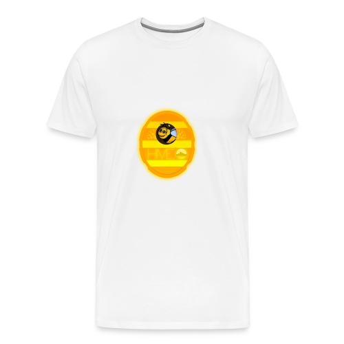 Herre T-Shirt - Med logo - Herre premium T-shirt