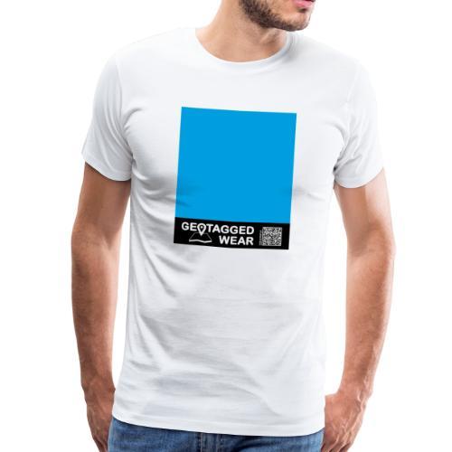Square Cyan - CMYK Collection - Männer Premium T-Shirt