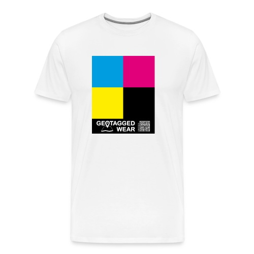 Square CMYK #1 - CMYK Collection - Männer Premium T-Shirt
