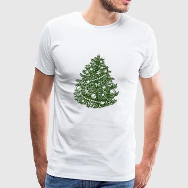 trees Classic - Premium-T-shirt herr