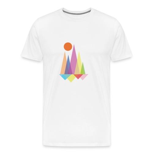 Sun Triangle - Men's Premium T-Shirt