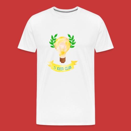 5 IDEEN CLUB Glühbirne 2018 - Männer Premium T-Shirt