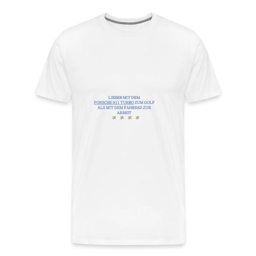 PORSCHETURBOGOLF - Männer Premium T-Shirt