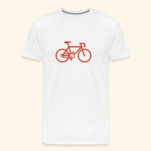 BIG bike red 001 - Männer Premium T-Shirt