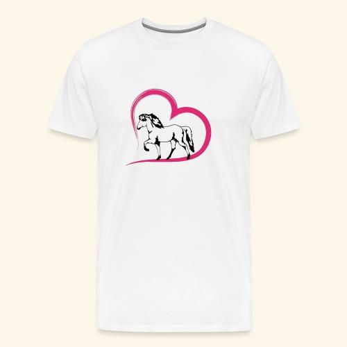Herz-Tölter - Männer Premium T-Shirt