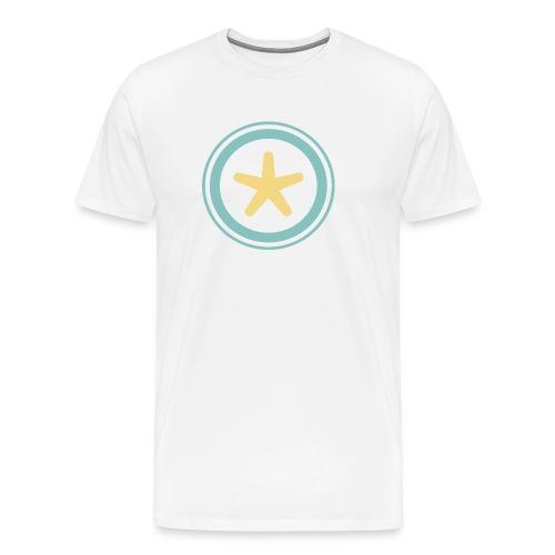 El mundo a través de un visor - Camiseta premium hombre