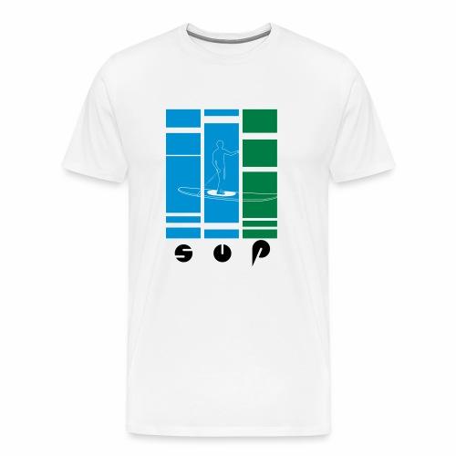 SUP Stand Up Paddle - Männer Premium T-Shirt