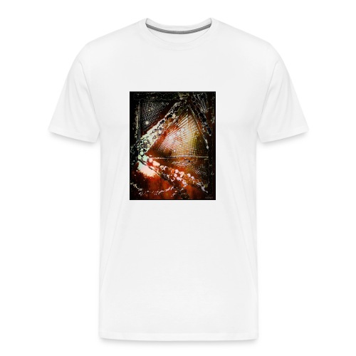 Verfangen in Struktur - Männer Premium T-Shirt
