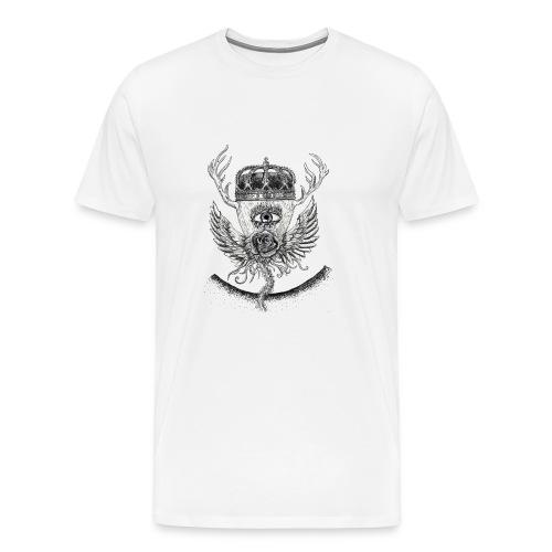 iSeeYou - Premium-T-shirt herr