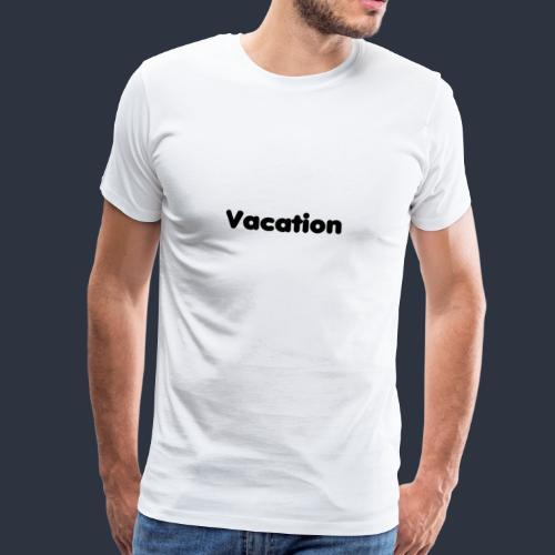 Vacation-MariusLeRoy - Premium-T-shirt herr