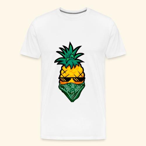 Gangsta Pineapple - Männer Premium T-Shirt
