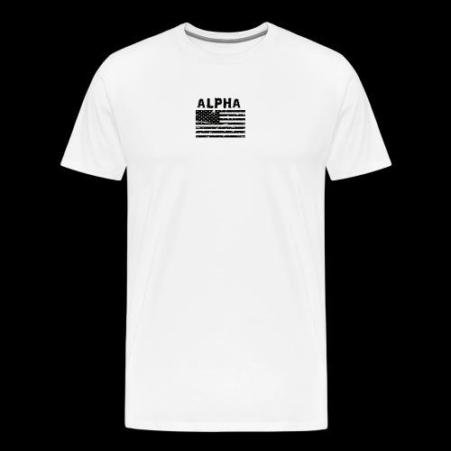 ALPHA - Männer Premium T-Shirt