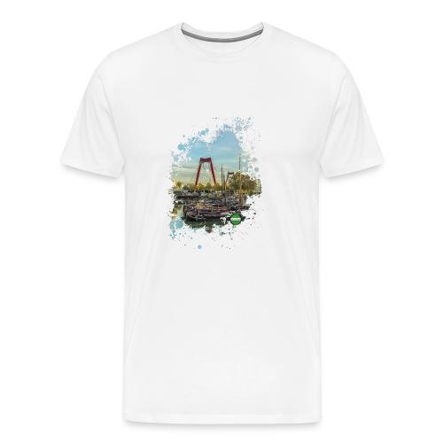 rotterdam splash oude haven 2mini fw - Mannen Premium T-shirt