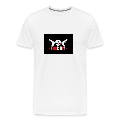 Fuck Off - Premium-T-shirt herr