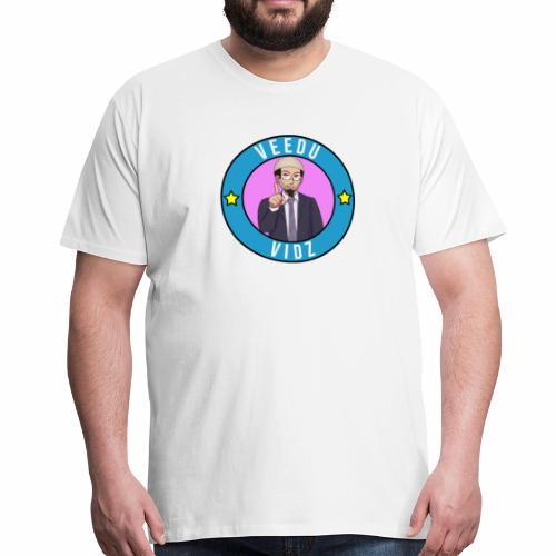 Veedu Vidz Zakir Naik Logo - Men's Premium T-Shirt