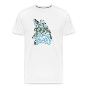 Foxletters - Premium-T-shirt herr