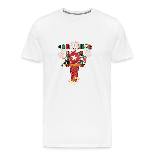 #DESUMBER - Mannen Premium T-shirt