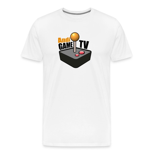Andi GAME TV (Black) - Männer Premium T-Shirt
