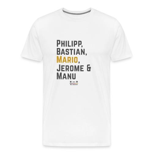 Die Weltmeister 2014 - Männer Premium T-Shirt