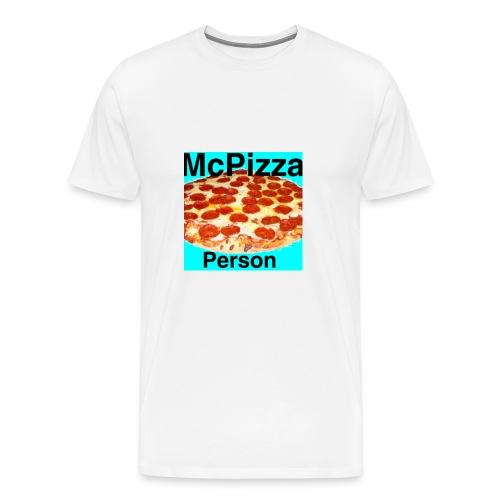 Old McPizzaPerson Logo - Men's Premium T-Shirt