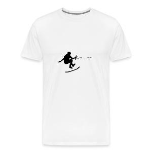 wakeskater_black - Männer Premium T-Shirt
