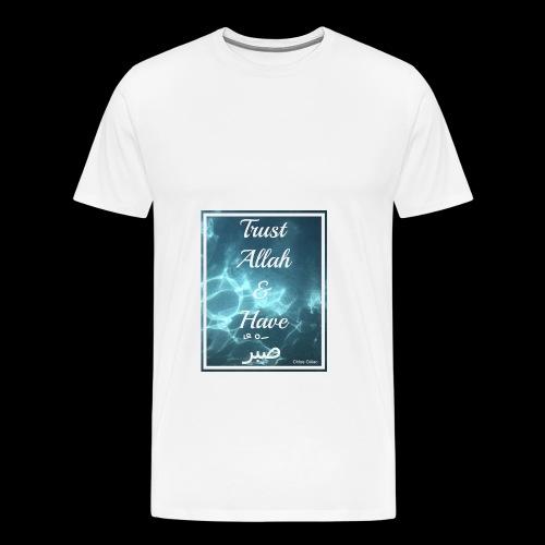 Patience in Allah - Men's Premium T-Shirt