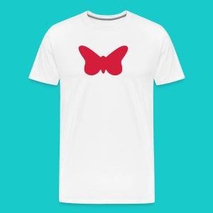 Butterfly sailing class logo - Männer Premium T-Shirt