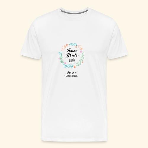Team Bride EVJF Prague - T-shirt Premium Homme