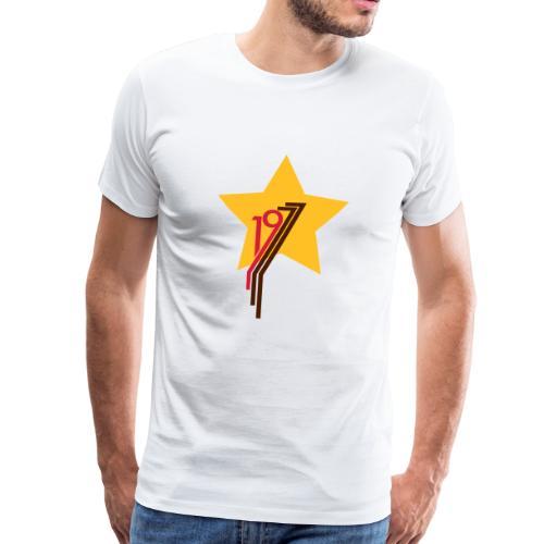 1977 Stern - Männer Premium T-Shirt