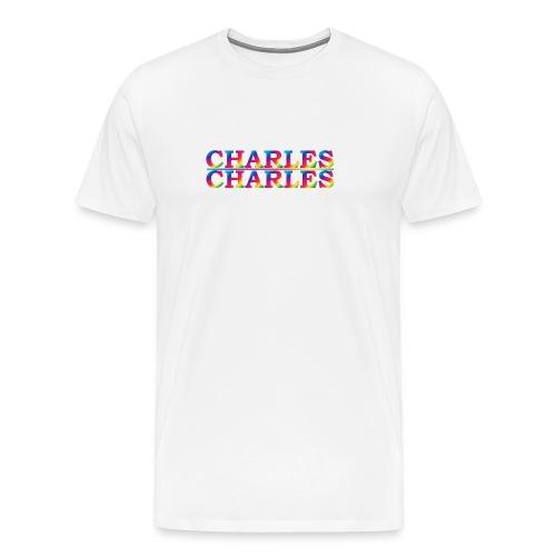 CHARLES rainbow - Men's Premium T-Shirt