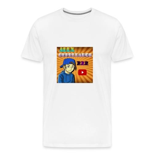 CAMISETA LOGO DEL CANAL - Men's Premium T-Shirt