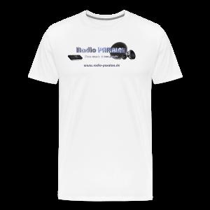 Radio PARALAX Facebook-Logo mit Webadresse - Männer Premium T-Shirt