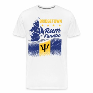 T-shirt Rum Fanatic - Bridgetown - Barbados - Koszulka męska Premium