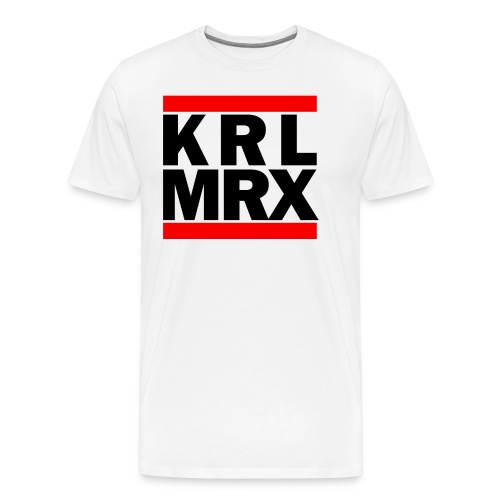 Krl Mrx | Karl Marx | T-Shirt - Männer Premium T-Shirt