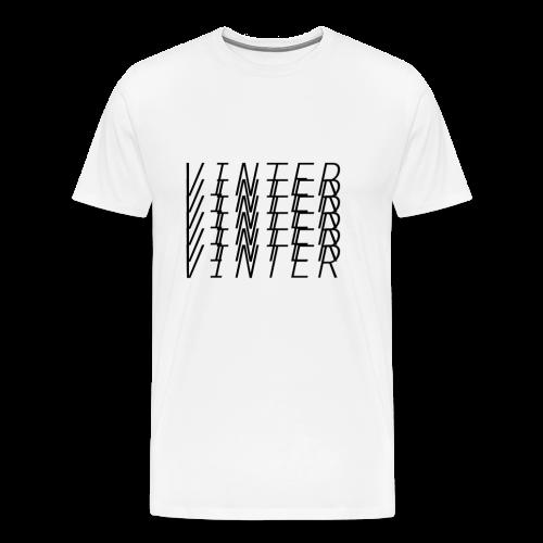 Vinter - # 6 - Men's Premium T-Shirt