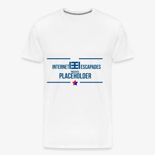 Placeholder - Premium T-skjorte for menn