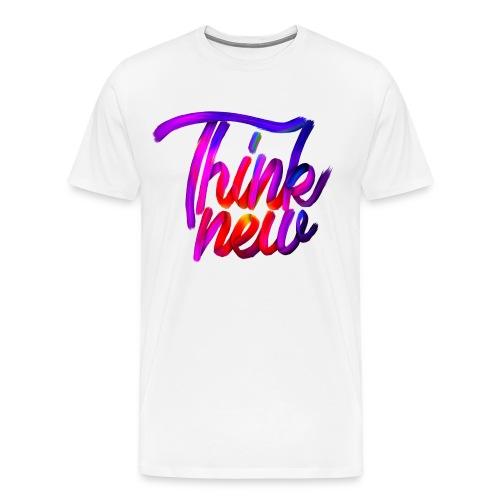 Think new [T-SHIRT DESIGN] - Männer Premium T-Shirt