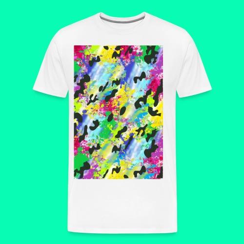 Spray - Männer Premium T-Shirt